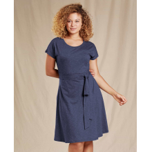 Cue Wrap SS Dress by Toad&Co in Iowa City IA