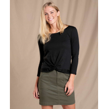 Women's Maisey 3/4 Sleeve Twist Top by Toad&Co in Chelan WA