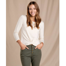 Women's Maisey 3/4 Sleeve Twist Top by Toad&Co in Broomfield CO