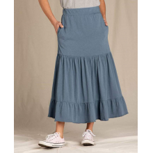 Women's Primo Tiered Midi Skirt by Toad&Co