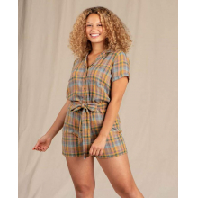 Women's Camp Cove SS Romper by Toad&Co