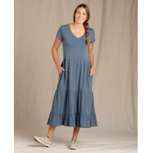 Women's Primo Tiered Midi SS Dress by Toad&Co in Sioux Falls SD
