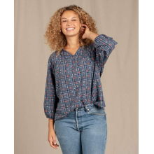 Women's Willet 3/4 Sleeve Shirt by Toad&Co in Golden CO