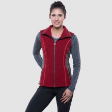 Women's Kozet Vest by Kuhl in Golden Co