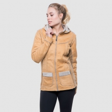 Women's Dani Sherpa Jacket by Kuhl in Red Deer Ab