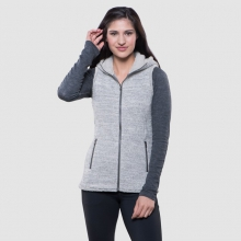 Women's Alska Hooded Vest by Kuhl in Lafayette Co