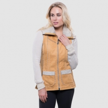 Women's Dani Sherpa Vest by Kuhl in Auburn Al