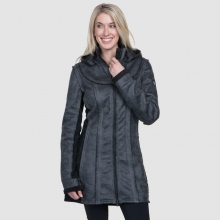 Women's Dani Sherpa Trench by Kuhl in Glenwood Springs CO