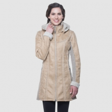 Women's Dani Sherpa Trench by Kuhl in Birmingham Al