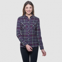 Women's Greta Flannel by Kuhl in Iowa City Ia