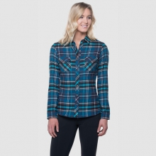 Women's Greta Flannel by Kuhl in Golden Co