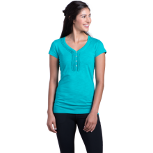 Women's Vega SS Henley by Kuhl in Red Deer Ab