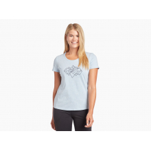 Women's Mirrored Mountains Graphic T by Kuhl