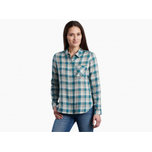 Women's Hadley Plaid LS by KUHL in Chelan WA