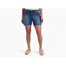 "Women's Kontour Flex Denim Short 6"" by KUHL"