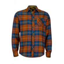 Men's Anderson Flannel LS by Marmot in Courtenay Bc