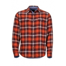 Men's Jasper Midweight Flannel LS by Marmot in Iowa City IA