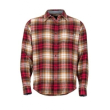 Men's Fairfax Midweight Flannel LS by Marmot in Iowa City IA