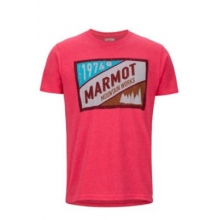 Men's Mountain Tab Tee SS by Marmot in Rogers Ar
