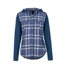Women's Reagan Midweight Flannel LS by Marmot in Sioux Falls SD