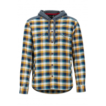 Men's Oheny Heavy Wt Flannel Hoody by Marmot in Auburn Al
