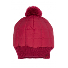 Women's Quilted Pom Beanie