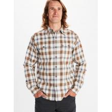 Men's Movatn Heavywt Flannel LS by Marmot in Golden CO