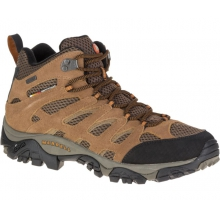 Men's Moab Mid by Merrell in Golden Co