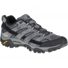 Men's Moab 2 Waterproof Wide by Merrell in Cold Lake Ab