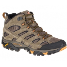 Men's Moab 2 Mid Ventilator Mid by Merrell in Havre Mt