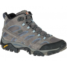 Women's Moab 2 Mid Waterproof by Merrell in Havre Mt