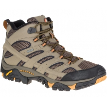 Men's Moab 2 Mid Gore-Tex by Merrell in Golden Co