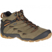 Men's Cham 7 Mid Waterproof by Merrell in Rocky View No 44 Ab