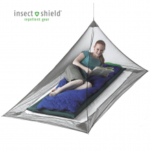 Nano Mosquito Pyramid Net - Single with Insect Shield by Sea to Summit in Aspen Co