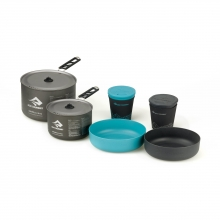 Alpha 2 Pot Cook Set 2.2 - 1.2L pot, 2.7L pot, 2 bowls, 2 cups by Sea to Summit in Arcata Ca
