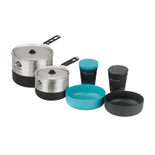 Sigma 2 Pot Cook Set 2.2 - 1.2L pot, 2.7L pot, 2 bowls, 2 cups