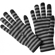 Striped Liner Glove by Smartwool in Eureka Ca