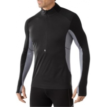Men's PhD Wind Zip T by Smartwool in Ashburn Va