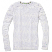 Women's Merino 250 Baselayer Pattern Crew by Smartwool in Canmore Ab
