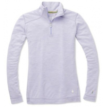 Women's Merino 250 Baselayer 1/4 Zip by Smartwool in Red Deer Ab