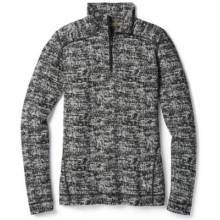 Women's Merino 250 Baselayer Pattern 1/4 Zip by Smartwool in San Francisco Ca