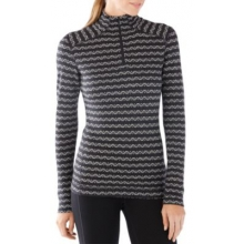 Women's Merino 250 Baselayer Pattern 1/4 Zip by Smartwool