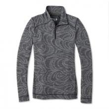 Women's Merino 250 Baselayer Pattern 1/4 Zip by Smartwool in Roseville Ca