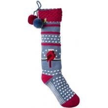 Charley Harper Cool Cardinal Stocking