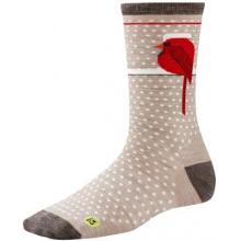 Women's Charley Harper Cool Cardinal Crew Socks by Smartwool