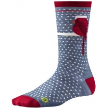 Women's Charley Harper Cool Cardinal Crew Socks by Smartwool