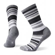 Women's Everyday Jovian Stripe Crew Socks by Smartwool in Arcata CA