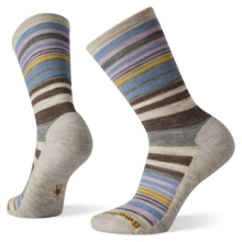 Women's Everyday Jovian Stripe Crew Socks by Smartwool in Sioux Falls SD