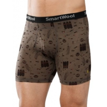 Men's NTS 150 Boxer Brief: Charley Harper National Park Poster Night Animals by Smartwool