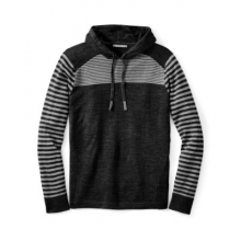 Men's Kiva Ridge Striped Hoody by Smartwool